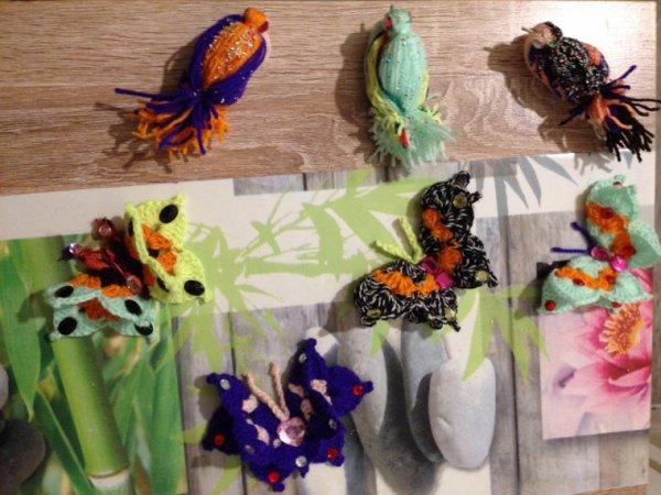 Bijoux pied , oiseaux et papillons ?..