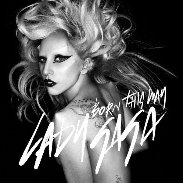 Pochette du single Born This Way