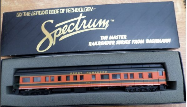 ho -spectrum bachmann - voiture great northerm