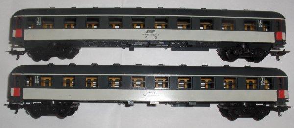 lima-ho - lot de 2 voitures 1ere classe SNCF neuves