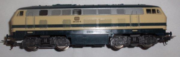 lima -ho -LOCO diesel DB 218218-6 neuve (objet de vitrine)