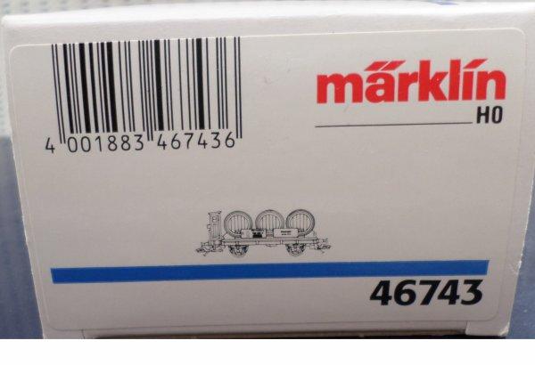 MARKLIN HO TRANSPORT DE VIN NEUF EN BOITE N° 46743