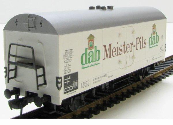fleischmann -ho- fourgon couvert DAB - MEISTER PILS - DB 5342 état neuf