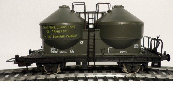 HO LIMA SNCF WAGON CIMENT CIE INTERNATIONALE DE TRANSPORTS PARIS