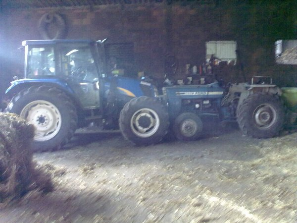 new holland e ford 3600