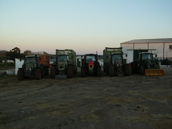 conjunto de tractores jcbs e filhos