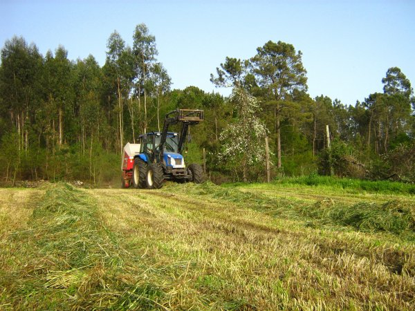 new holland tl100a and welguer rp 220 farmer