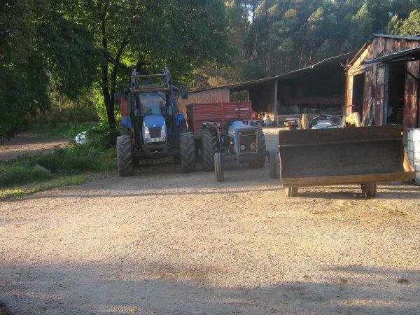 3 tractors!