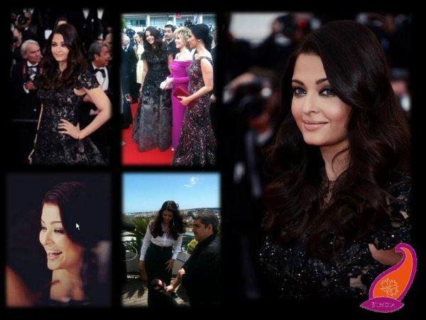 Lady Aishwarya est arrivée à Cannes