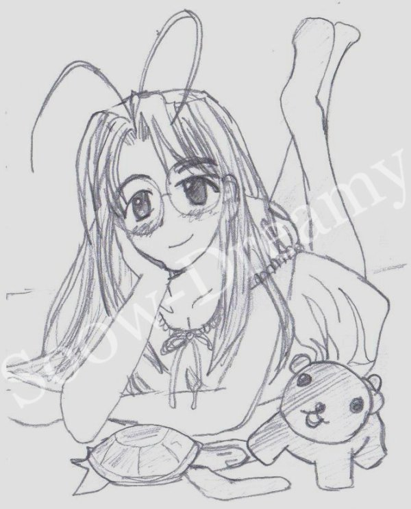 Dessins Love Hina 09 à 11