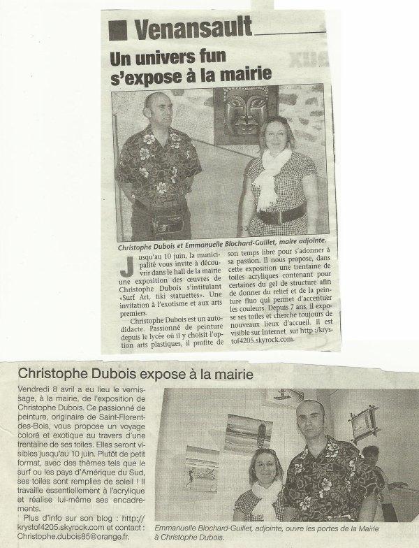 """archive """"expo à venansault"""" en  juin 2011"""