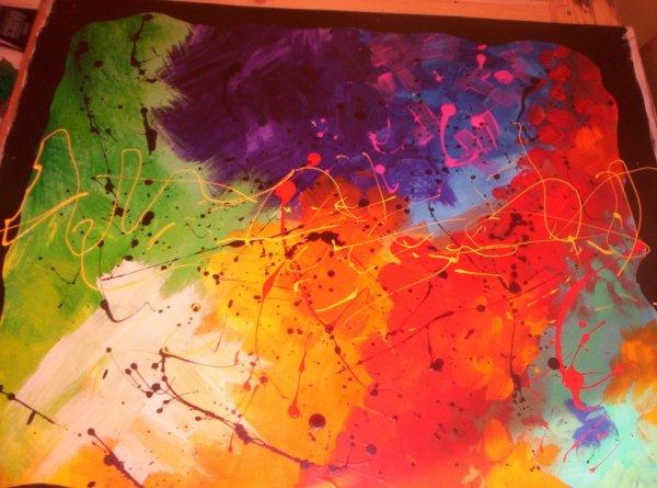toile abstraite N°3