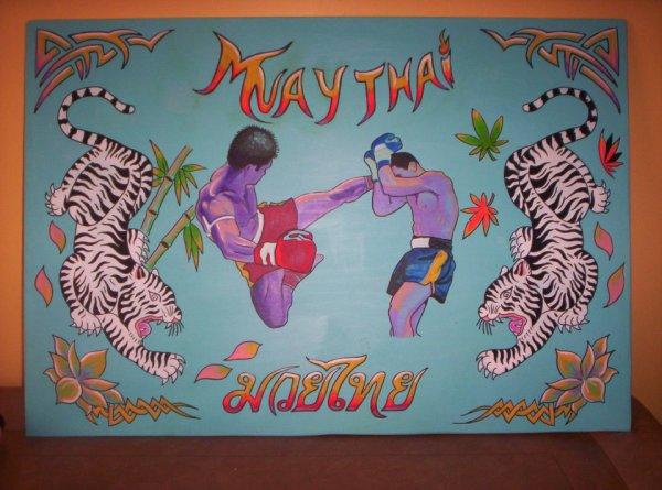 boxeurs thaï N°2