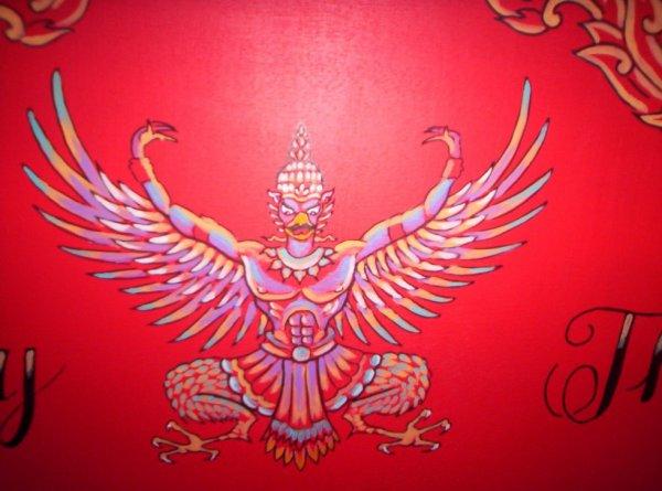 garuda, emblème thaîlandais