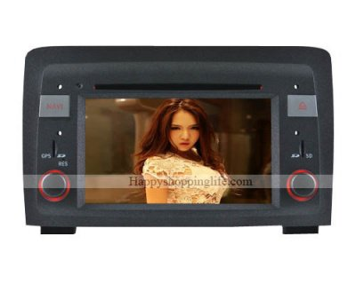 Autoradio DVD Head Unit with GPS Navi Digital TV for Fiat Idea Model: HSL-SD-203D Starting at: $618.82 $525.99