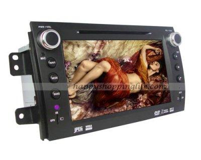 Fiat Sedici Android Autoradio DVD GPS Digital TV Wifi 3G BT USB Model: HSL-CP-167D Starting at: $552.88