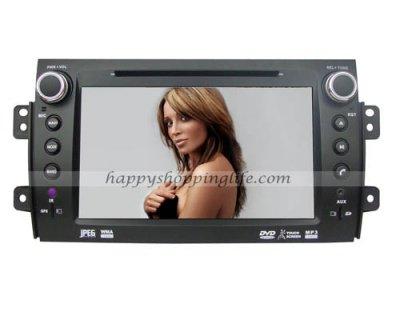 Car DVD Player GPS Navigation for Fiat Sedici - USB SD iPod RDS Model: HSL-SD-229G $258.99