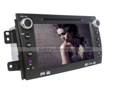 Fiat Sedici Autoradio DVD GPS Navigation with Digital TV BT RDS Model: HSL-SD-229D Starting at: $297.99