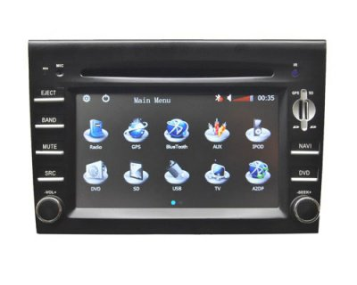Porsche Cayman DVD Player with GPS Navigation Bluetooth CAN Bus Model: HSL-SD-110G Starting at: $728.16