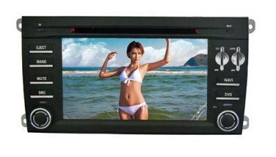 Porsche Cayenne DVD Player with GPS Navigator CAN Bus Bluetooth Model: HSL-SD-104G Starting at: $728.16
