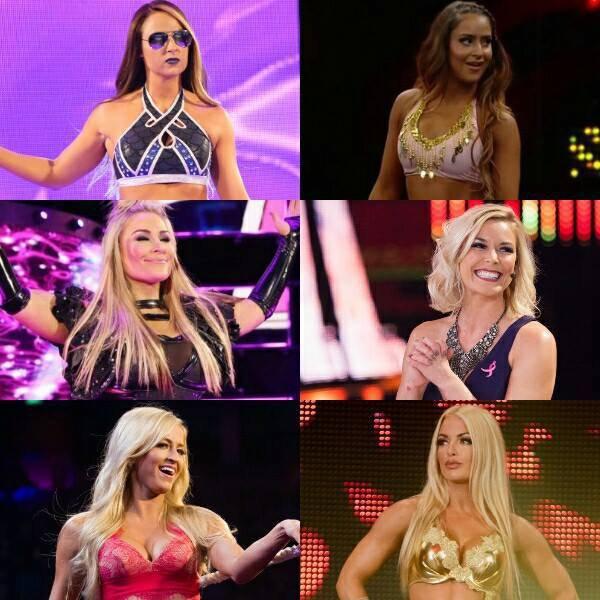 Certaines libérations féminines à la WWE