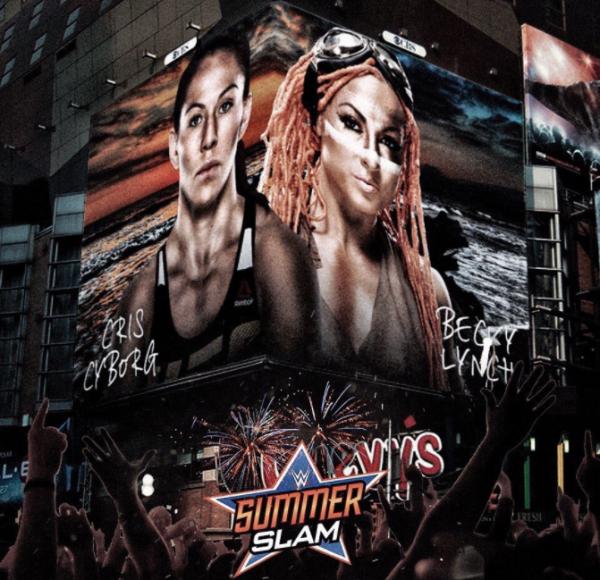 Une compétitrice de l'UFC défie Becky Lynch