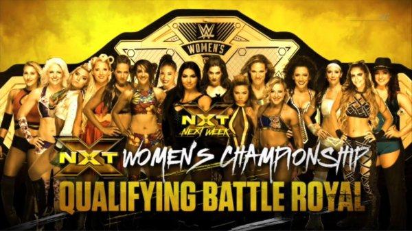 La semaine prochaine lors de NXT