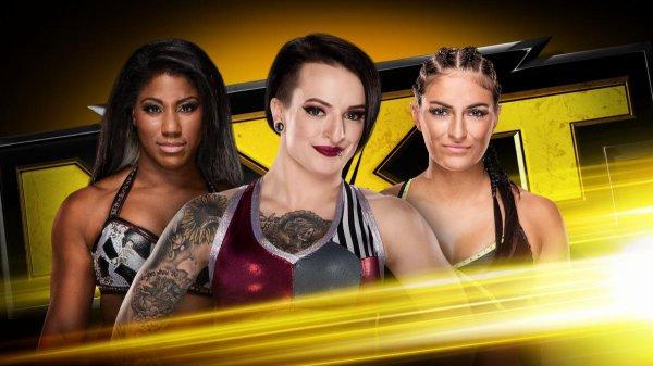 Résultat de NXT du 18/10/2017