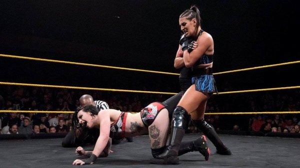 Résultat de NXT du 6/12/2017