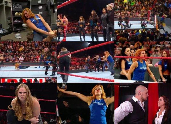 Résultats de Raw du 12/11/2018