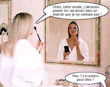Ah !!!........Les blondes.......
