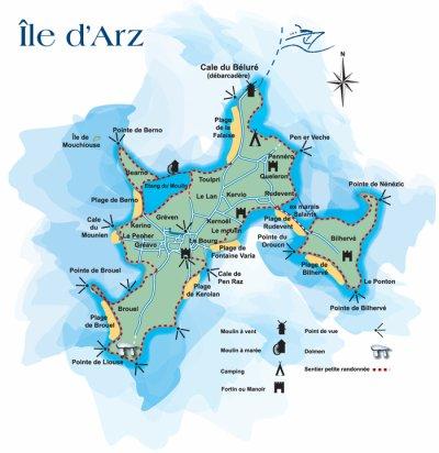 Présentation de l'Île d'Arz