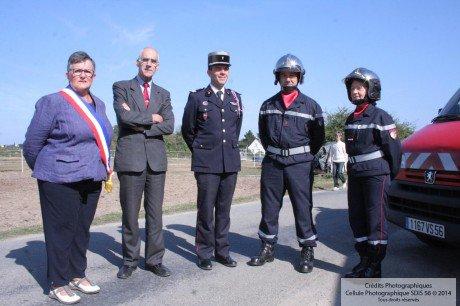 Passation de commandement au CPI Ile d'Arz