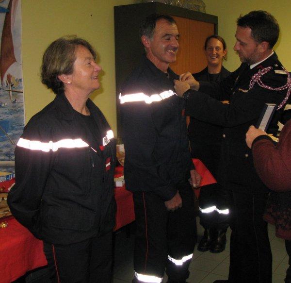 Sainte-Barbe 2014 des Sapeurs-Pompiers de l'Ile d'Arz