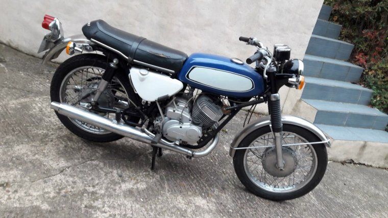 Achat moto de 1970 Avenger Kawasaki  type A7