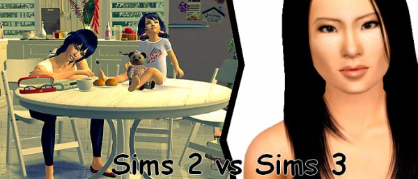 n°6 ♥ Le combat du moment : Sims 2 vs Sims 3