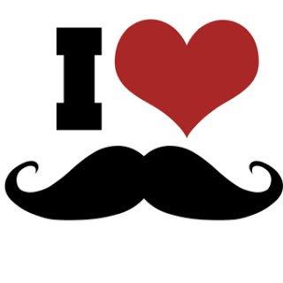 Moustache... I LOVE MOUSTACHE !