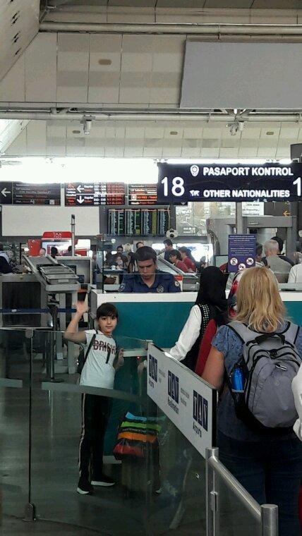 Ania a Aéroport  istonbul