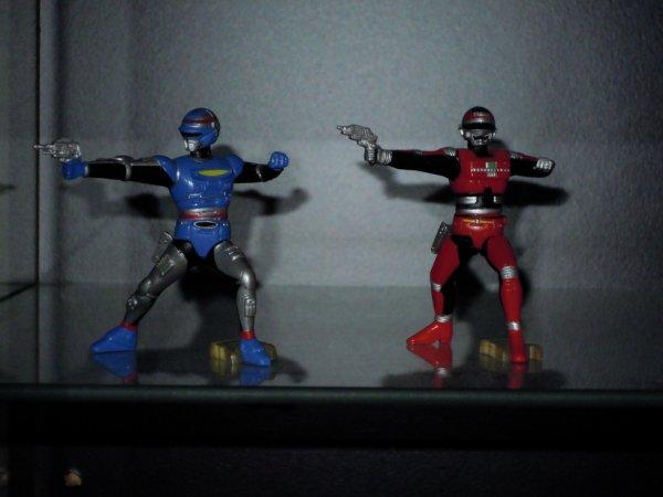 X or 2 et Captain Sheider