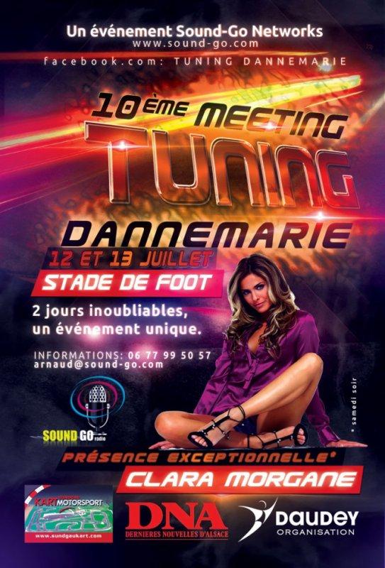 10ème Meeting Tuning de Dannemarie avec la présence EXCEPTIONNELLE de Clara MORGANE