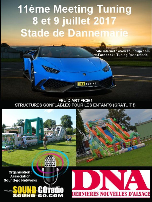 11EME MEETING TUNING DE DANNEMARIE