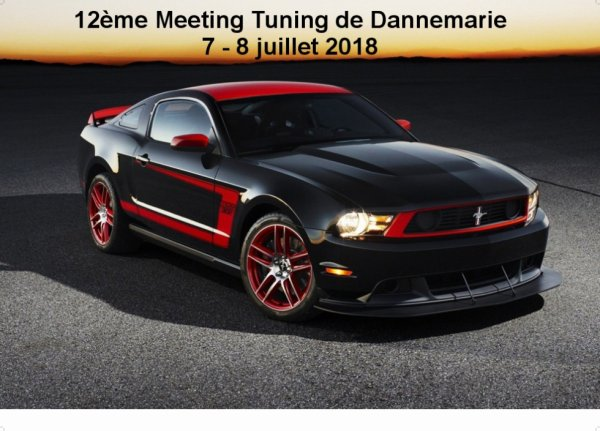 12ème Meeting Tuning Dannemarie