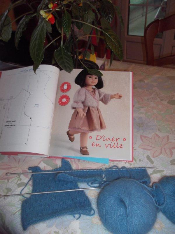 Des livres pour coudre et tricoter pour les poupées,