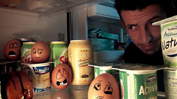 Scary eggs ! juste moi faire le fou ;)