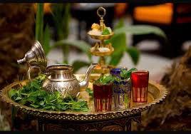 un bon thé a la monthe qui veut lol