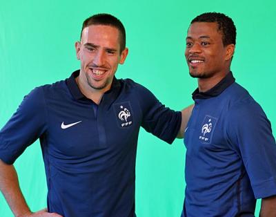 Honteux de revoir Ribery et Evra porter et donc salir ce maillot