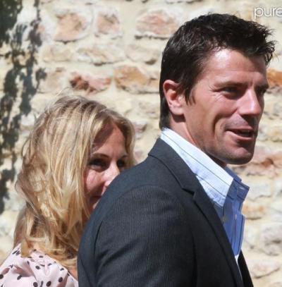 Mariage Sidney Govou & Clémence Catherin