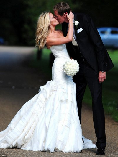 Le mariage de Peter Crouch et Abby Clancy
