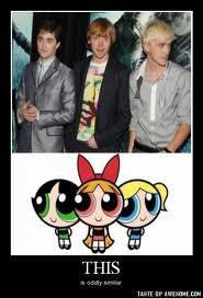 Les Supers Nanas : Daniel Radcliffe, Rupert Grint et Tom Felton xD !