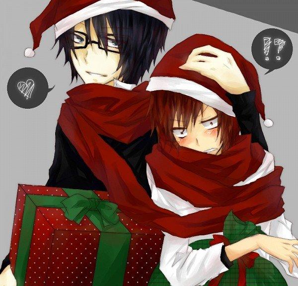 Merry Christmas avec Misaki et Saruhiko ^o^ !
